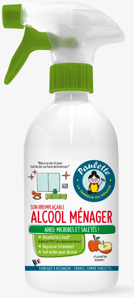 Nettoyant d sinfectant microbes alcool m nager pulv for Alcool de pomme maison