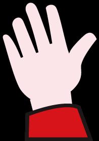 Main gauche de paulette