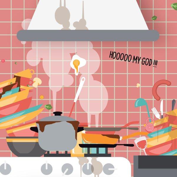 Comment nettoyer une cuisine et enlever le gras avec du savon noir - Nettoyer filtre hotte bicarbonate ...