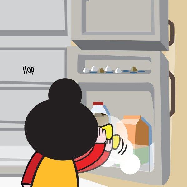 Comment nettoyer une cuisine et enlever le gras avec du for Enlever les odeurs du frigo