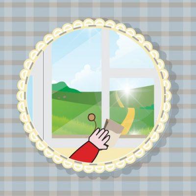 Nettoyer et faire biller les miroirs avec des sachets de thé
