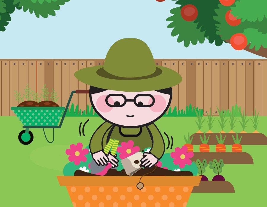 Thé et jardinage, les bienfaits