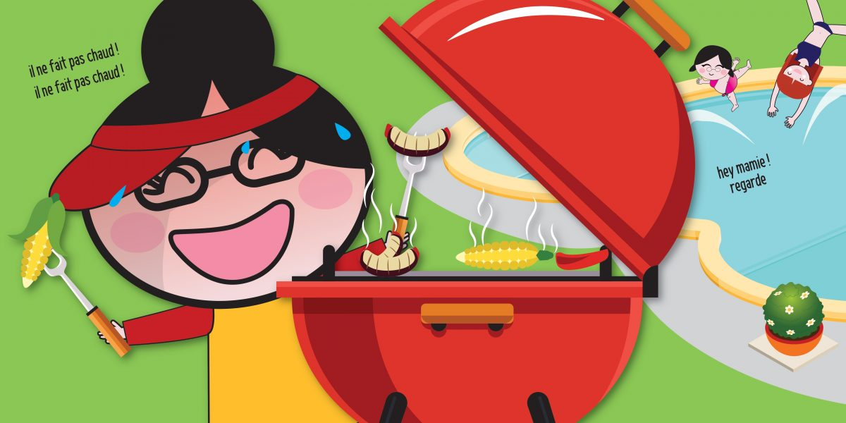 Le barbecue sur le gril !
